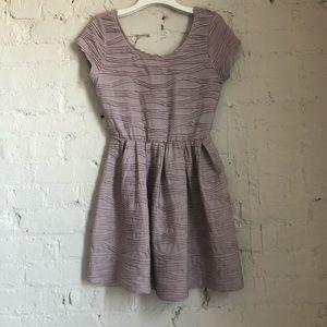 Feminine 3D textured dress